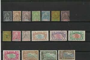 reunion  stamps ref r9706