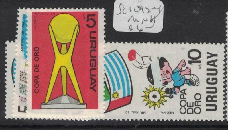 Uruguay SC 1092-4 MNH (4dup)