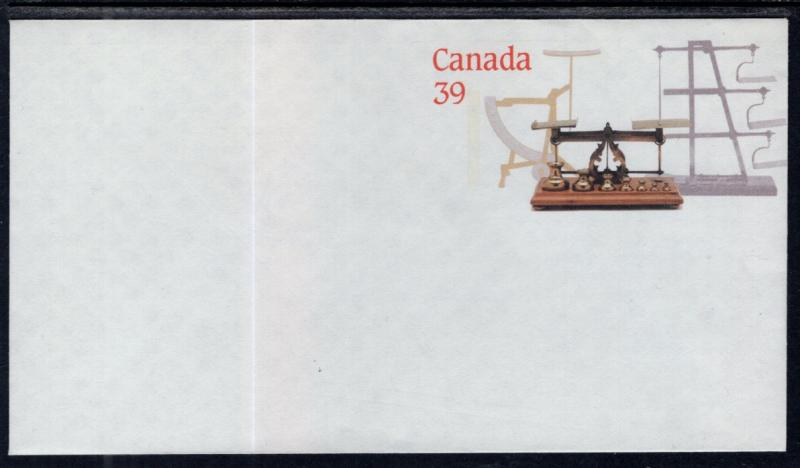 Canada Unitrade U126 Postal Envelope Unused VF