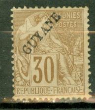 French Guiana 26 mint CV $47.50