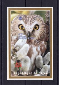 Niger 1998  OWLS - ITALY'98 - ROTARY CLUB S/S Imperforated Mi#Bl.108