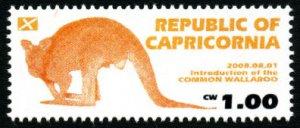 CAPRICORNIA - Micronation - 2008 - Common Wallaroo - Mint Never Hinged