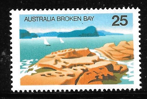 Australia 642: 25c Broken Bay, MH, F-VF