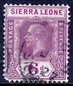 Sierra Leone - Scott #130 - Used - Light crease - SCV $2.75
