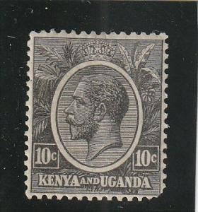Kenya, Uganda & Tanzania  Scott#  22  MH