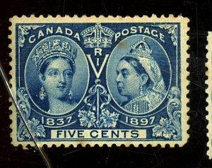Canada #54 MINT FVF OG LH Couple Toned Specks on Gum Cat$70