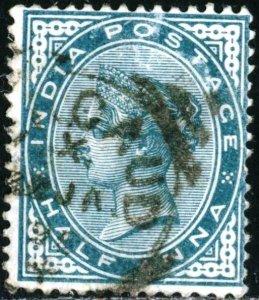 INDIA - SC #36 - USED - 1882 - INDIA022NS3