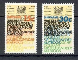 Suriname - 1974 - NVPH 625-26 - MNH - ZO176