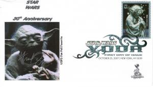 Star Wars/Yoda FDC from Toad Hall Covers!  (#4)