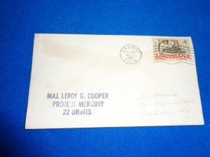 US NAVAL COVER: 1963 USS WASP