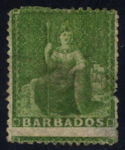 Barbados #15 Britannia; used (26.00)