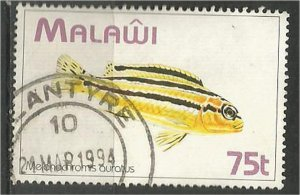 MALAWI 1994 used 75t  Fish  Scott 629