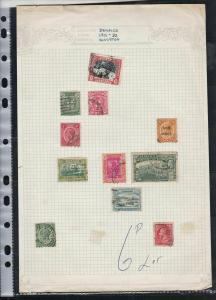 jamaica 1900-32 kingston  stamps page ref 18225