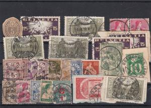 Switzerland Assorted Used Stamps ref R 16408