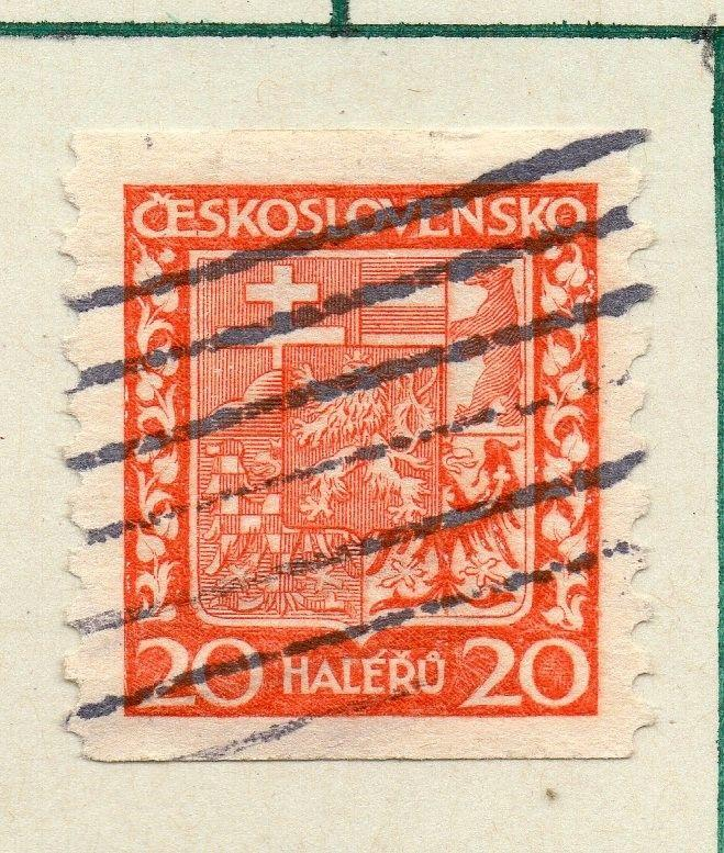 Czechoslovakia 1929 Early Issue Fine Used 20h. 230265