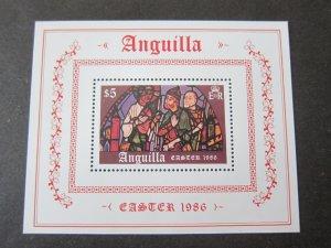 Anguilla 1986 Sc 668 Christmas Religion set MNH