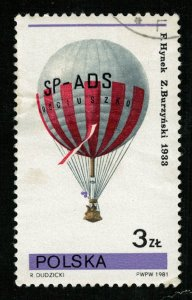 1981, Balloon, 3 ZL,  (Т-9472)