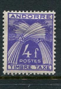 French Andorra #J36 Mint