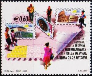 Italy. 2009 60c Fine Used