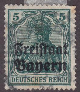 Bayern 178 Hinged 1919 Germania O/P