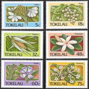 Tokelau 139-143 MNH - Flora