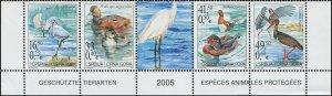 Serbia 2005 Sc 273 Birds Duck Egret Stork CV $6