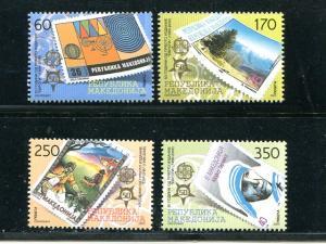 Macedonia 2005  Europa set Mint VF NH