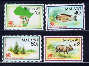 Malawi 570-73 NH 1980 Set