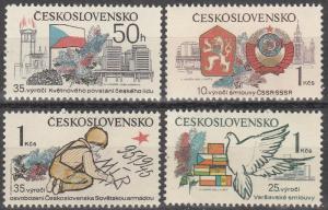 Czechoslovakia #2312-5 MNH (K976L)