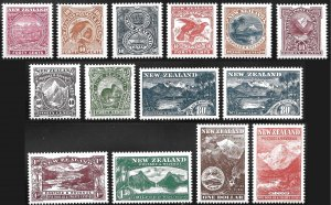 New Zealand # 1508 - 21 Mint Never Hinged