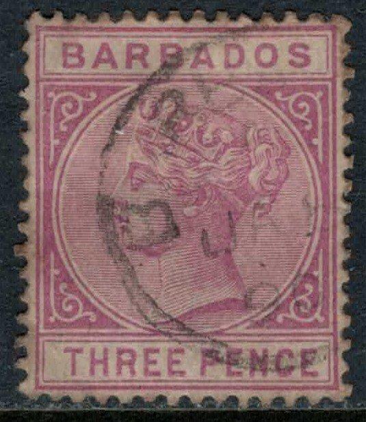 Barbados #63  CV $30.00