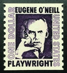 1305c Eugene O'Neill Us Coil Stamp (Dull Gum) Mint/nh FREE SHIPPING