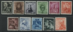 Romania 1938 Semi-Postal set mint o.g. hinged