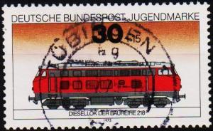 Germany. 1975 30pf+15pf  S.G.1729 Fine Used