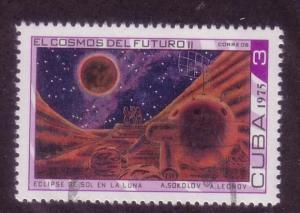 Cuba Sc. # 1966 CTO Space