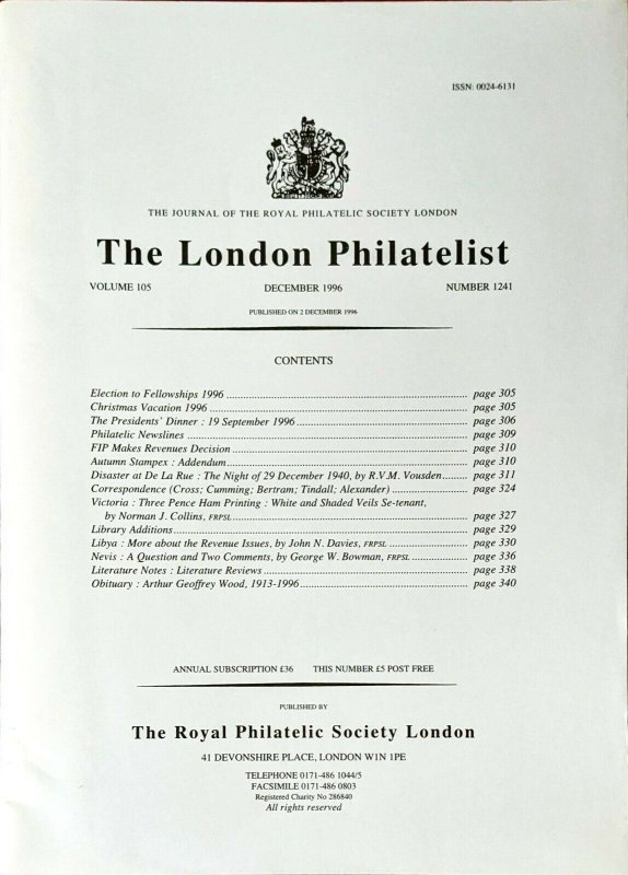 DISASTER AT DE LA RUE: THE NIGHT OF 29 DECEMBER 1940 London Blitz Stamp Printing