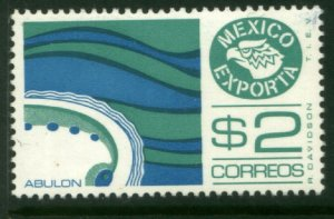 MEXICO Exporta 1117a $2P Abalone. Unwmk Fosfo Paper 4 MINT, NH. VF.