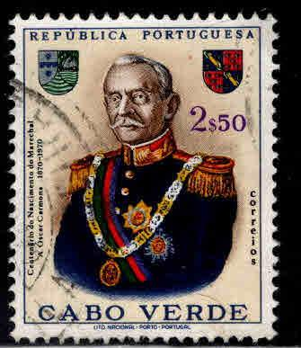 Cabo or Cape Verde Scott 359 Used stamp