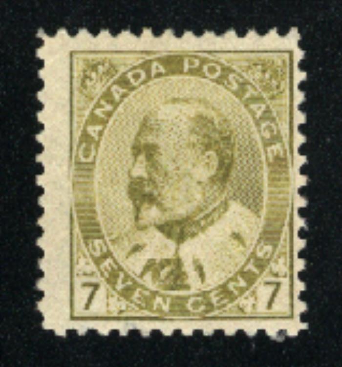 Canada #92   -2   Mint NH  PD