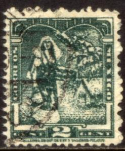 MEXICO 838 2c 1934 Definitive Wmk Gobierno...279 Used (665)