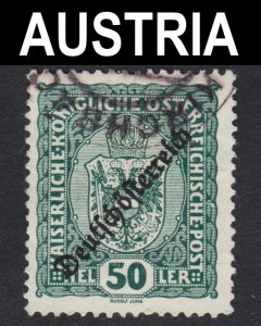 Austria Scott 191 F to VF used.