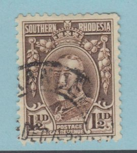 SOUTHERN RHODESIA 18B USED  NO FAULTS VERY FINE! PERF 12 VARIETY