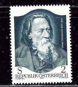 Austria 998 MNH 1974 issue    (ap2913)