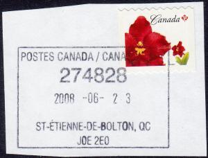 Canada - 2007- Scott #2244 - used - ST-ÉTIENNE-DE-BOLTON PQ pmk