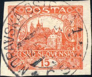 TCHECOSLOVAQUIE / CZECHOSLOVAKIA MORAVASKÁ OSTRAVA 1*Č.S.P. (V1455-1) /Mi.26Ua