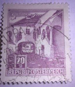 Classic Issues of Austria Scott cat #618a