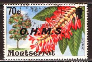 Montserrat; 1976; Sc. # O16; O/Used Single Stamp