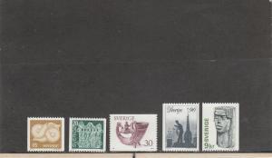 SWEDEN 1173-1177 MNH 2014 SCOTT CATALOGUE VALUE $4.65