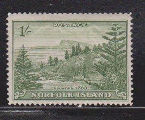 NORFOLK ISLAND Scott # 11 MH - Pine Trees