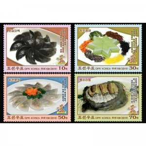 Korea stamps - 2019. Traditional dishes